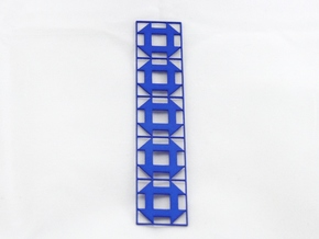 Churn Dash Bookmark in Blue Strong & Flexible Polished