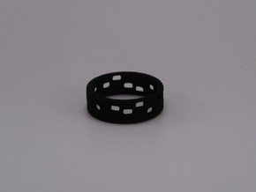 The Dots - Ring  - size54 - diam17,2mm in White Strong & Flexible