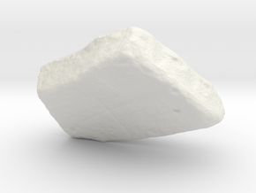 Tablet, monochrome version in White Strong & Flexible