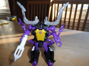 Sunlink - Insect: Shard-a-plenty Gun in White Strong & Flexible