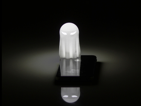 Lightclip: ninja Ghost, iPhone 5/5s in White Strong & Flexible