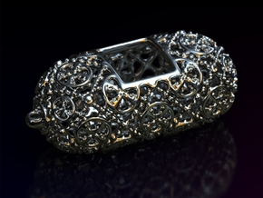 PA Ball V3 H25Se50 in Rhodium Plated