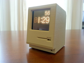 Macintosh 128k/512k/Plus iPod Nano dock in White Strong & Flexible Polished
