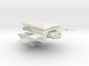 Carcharcal Fluyt with Cargo pod in White Strong & Flexible