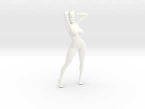 Sexy Girl-006 scale 1/20 Passed in White Strong & Flexible Polished