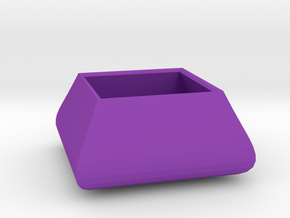 Square bowl in Purple Strong & Flexible Polished
