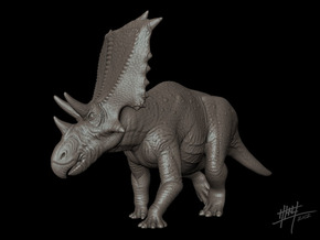 Chasmosaurus Belli 1/40 in White Strong & Flexible
