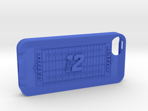 IPhone 5 12th Man in Blue Strong & Flexible Polished