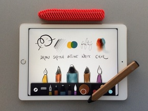 Case for Pencil by FiftyThree in Red Strong & Flexible Polished