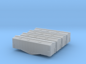 Airslide One Bay Covered Hopper - Zscale in Frosted Ultra Detail