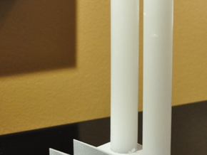Factory candle holder in Black Strong & Flexible