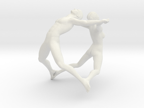 Joy Figures  Large in White Strong & Flexible