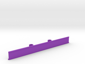 ZMR250 Bumper V6.1 100mm in Purple Strong & Flexible Polished