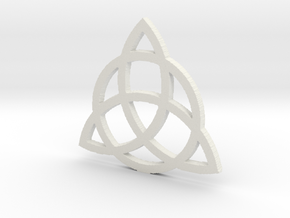 3.2 Triquetra in White Strong & Flexible