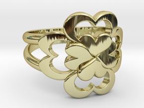 Size 7 Wife Ring  in 18k Gold Plated