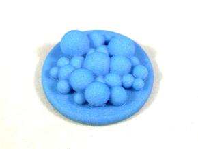 Foam Tokens, Set of 16 Flash Point in Full Color Sandstone