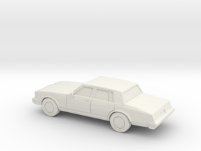 1/87 1977 Cadillac SeVille in White Strong & Flexible