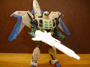Sunlink - BC12 Metalbirdie v2 Rifle + Wings Set in White Strong & Flexible