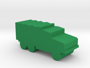 Game Piece, WW2 Cargo Truck in Green Strong & Flexible Polished
