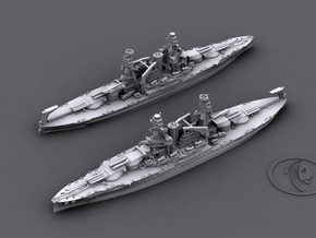 1/4800 US BB Nevada class (OK '41 x2) in Frosted Ultra Detail