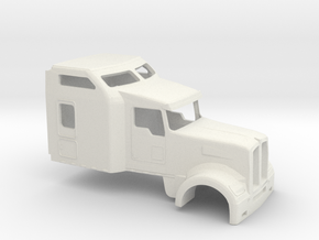 1/87 2012 Kenworth W 900 in White Strong & Flexible