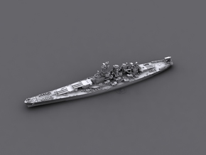 1/1800 US BB55 North Carolina[1944] in White Strong & Flexible