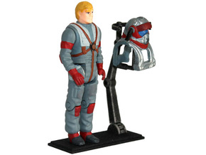M.A.S.K. Deluxe Figure-Stand in White Strong & Flexible Polished