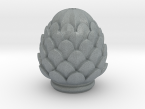 Pine Cone in Polished Metallic Plastic