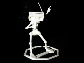 Musical Robot in White Strong & Flexible