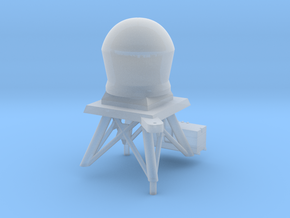 1/96 scale Perry Mast #4 with updated radar dome in Frosted Ultra Detail