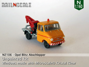 Opel Blitz A Abschlepper (N 1:160) in Frosted Ultra Detail