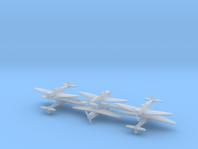Heinkel He.70 (6 Airplanes) 1/600 in Frosted Ultra Detail