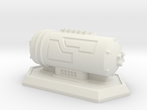 Small Storage Tank in White Strong & Flexible