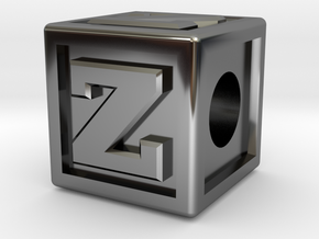 """Name Pieces; Letter """"Z"""" in Premium Silver"""