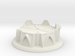Cooling Tower Mid Base in White Strong & Flexible