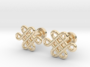 Celtic Cufflinks in 14k Gold Plated