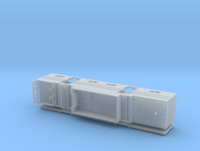 HO 1/87 Horsebox 48' Semi 03 in Frosted Ultra Detail