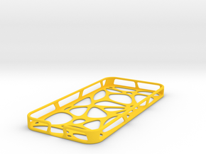 iPhone 5 case - Cell in Yellow Strong & Flexible Polished