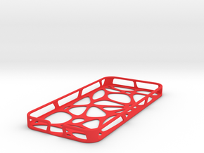 iPhone 5 case - Cell in Red Strong & Flexible Polished