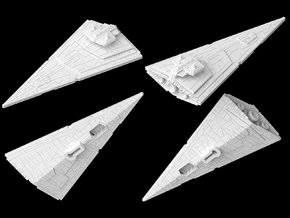 (Armada) Vindicator Cruiser in White Strong & Flexible