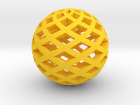 Sphere in Yellow Strong & Flexible Polished