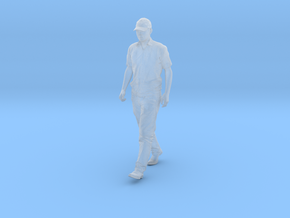 1/64 Walking Figure in Frosted Extreme Detail