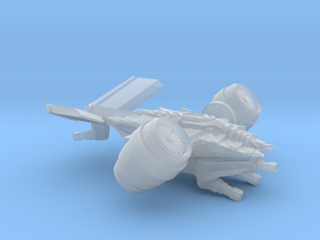 DRONE FORCE - VTOL Gunship in Frosted Ultra Detail