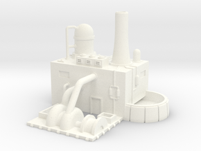 Water Purification Plant  (1/285) in White Strong & Flexible Polished