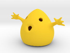 Happy Ghost in Yellow Strong & Flexible Polished