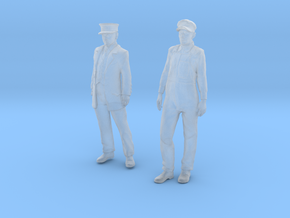 1:29 scale Conductor and Engineer Combo  in Frosted Ultra Detail