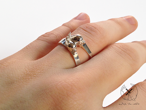 Nº03 Together Apart (multiple sizes) in Polished Silver