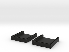Small Rack Brackets  in Black Strong & Flexible