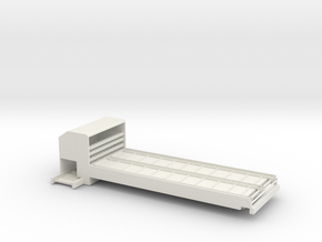 1/64 Bale Processor in White Strong & Flexible