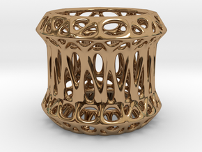 Candle Holder 3cm (003) in Polished Brass